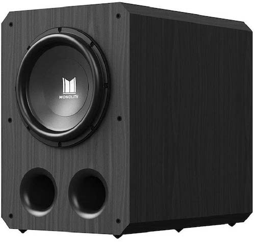 Monolith 12 inch, 500 watt - Best Home Theater Subwoofer Under 1000